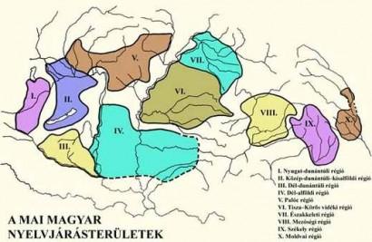 A magyar nyelvjárások klasszikus fölosztása – a beszélők másképp érzékelik