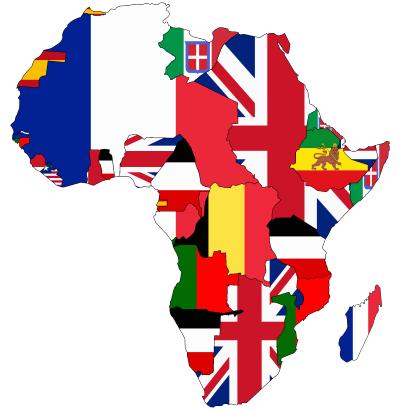Afrika 1913-ban