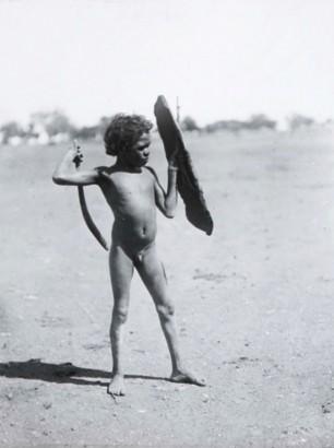 Ausztrál bennszülött fiú