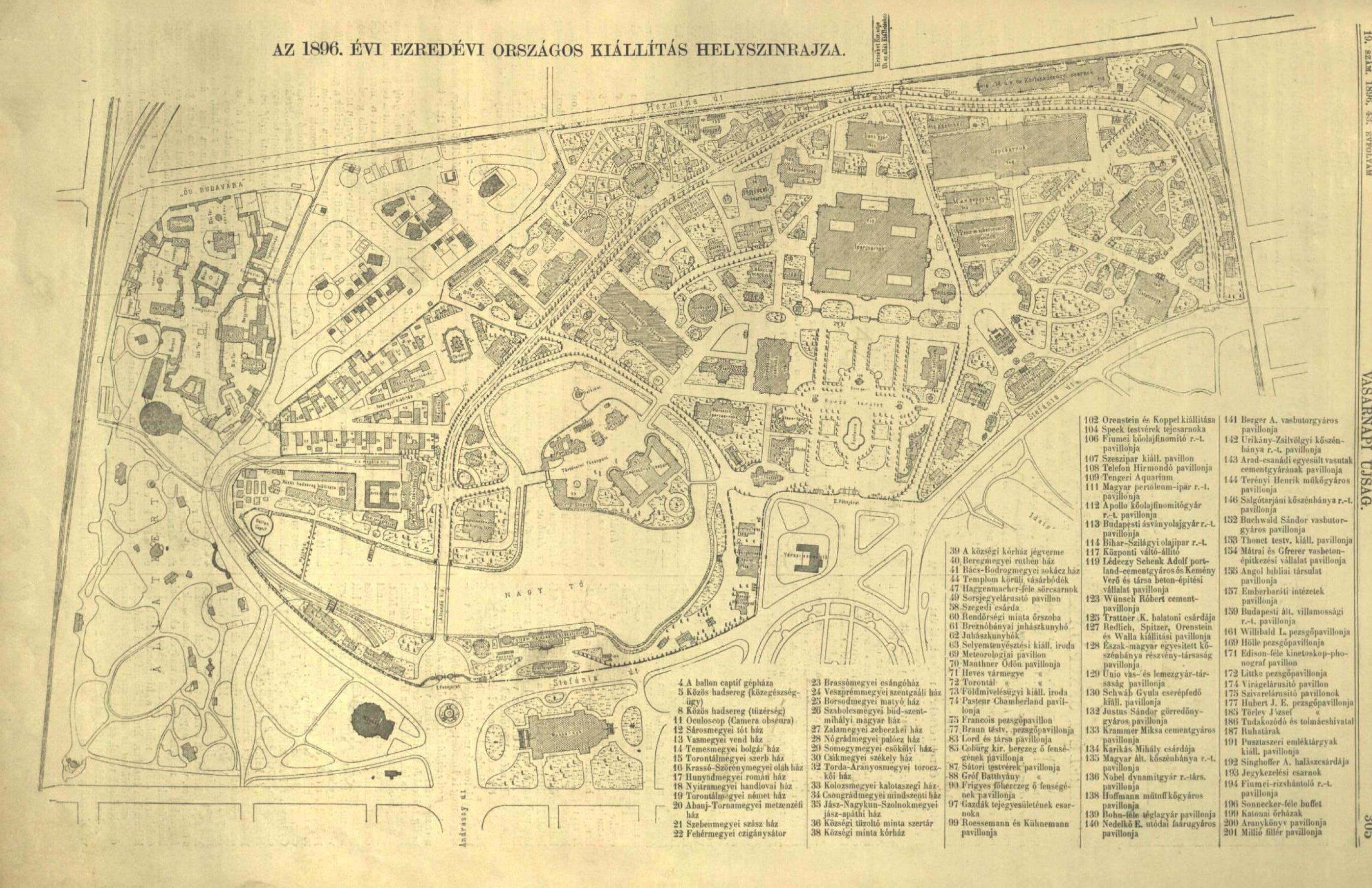 budapest térkép 1896 Nyelv és Tudomány  Főoldal   Miért Királydomb? budapest térkép 1896