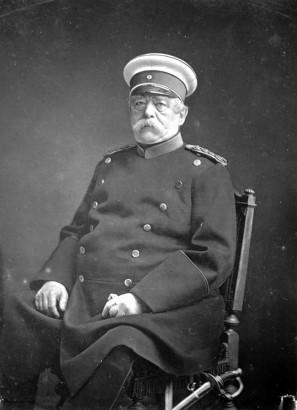 Bismarck kancellár, a német egység atyja