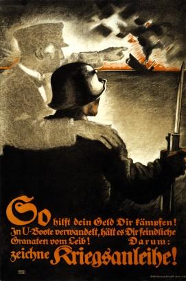 Első világháborús propagandaplakát. Nem náci találmány