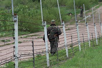 Határ az előszobában (Gobi márkájú orosz elektronikus kerítés)