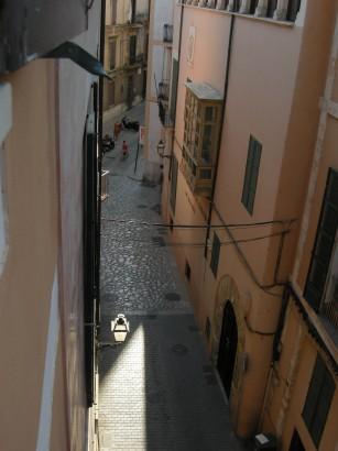 Jellegzetes utca a Callban