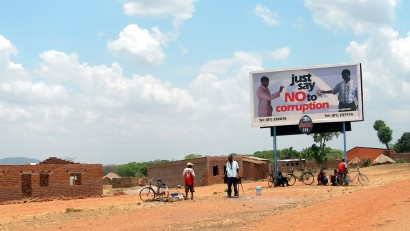 Just say no to corruption ('Mondj nemet a korrupcióra!') – Zambia, 2005