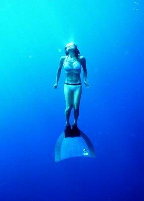 La submarinista