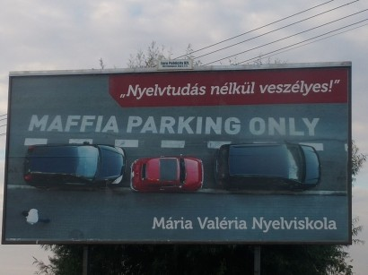Maffia parking only