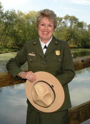 Mary A. Bomar, a National Park Service 17. igazgatója, egyúttal par excellence példája a 'la guardabosque(s)' szónak