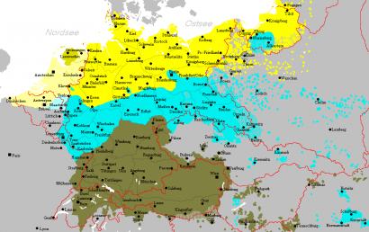 Német dialektusok a második világháború előtt