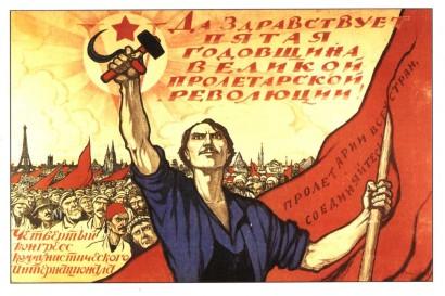 Szovjet plakát a húszas évekből